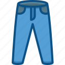 clothe, fashion, female, jeans, pent, trouser icon icon