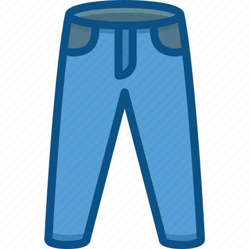 clothe, fashion, female, jeans, pent, trouser icon icon