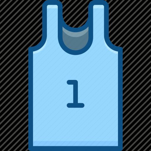 basketball, clothing, marathon, sports, sports wear icon, vest icon