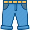 accessories, clothing, dress, fashion, half pant, man, woman icon icon