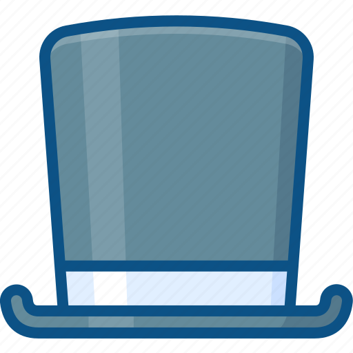 hat, high, magic, magician hat icon, top, tophat, topper, vintage icon
