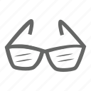 cloth, clothing, fashion, glasses icon
