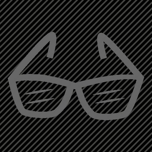 cloth, clothing, fashion, glasses icon