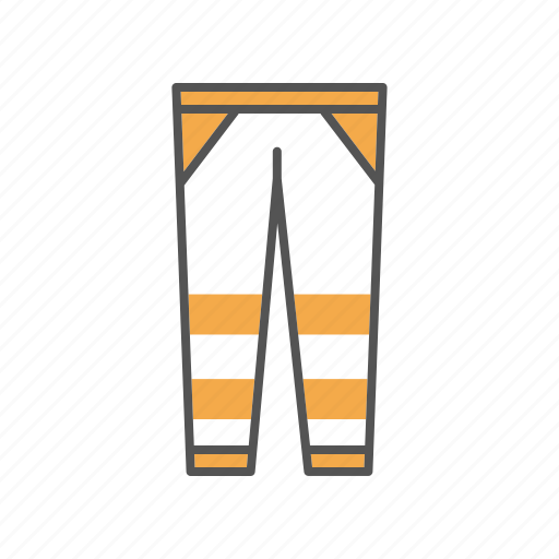 apparel, breeches, clothing, hose, leggings, pants, trousers icon