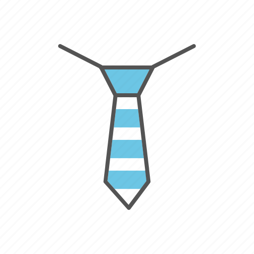 apparel, clothes, clothing, necktie, tie icon