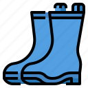 clothing, rain, shop, boots icon