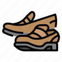 clothing, loafers, shop icon
