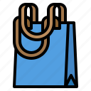 clothing, shop, tote icon