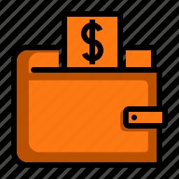 accessory, money, purse, wallet icon