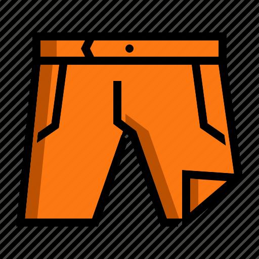 drawers, fashion, men, shorts icon