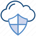cloud, data, online security, protection, security, shield, storage