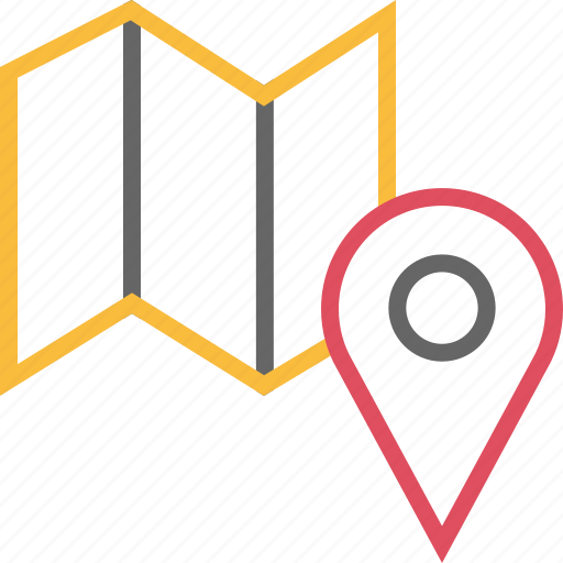 find, gps, location, map, pin icon
