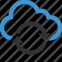 arrow, arrows, cloud, nav, navigation, refresh, ui icon