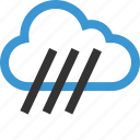 cloud, nav, navigation, rain, ui, water, weather icon