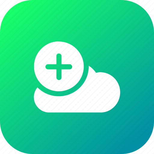 add1, big, cloud, data, database, online, storage icon