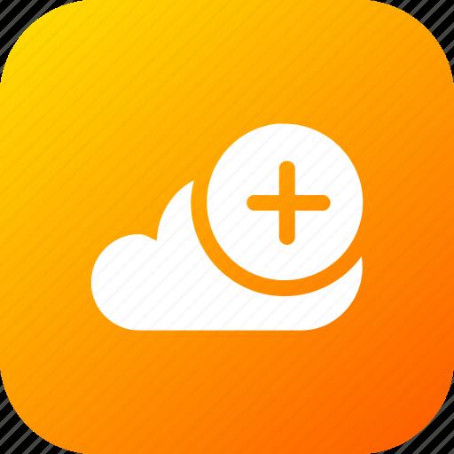 add11, big, cloud, data, database, online, storage icon
