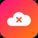 cloud, data, database, delete, online, storage
