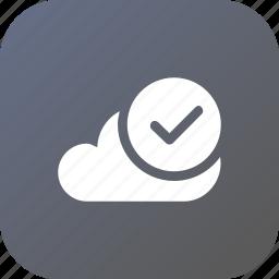big, cloud, data, database, exact, online, storage icon