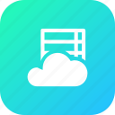 big, cloud, data, database, files1, online, storage icon