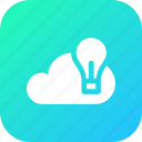 big, cloud, data, database, idea, online, storage icon