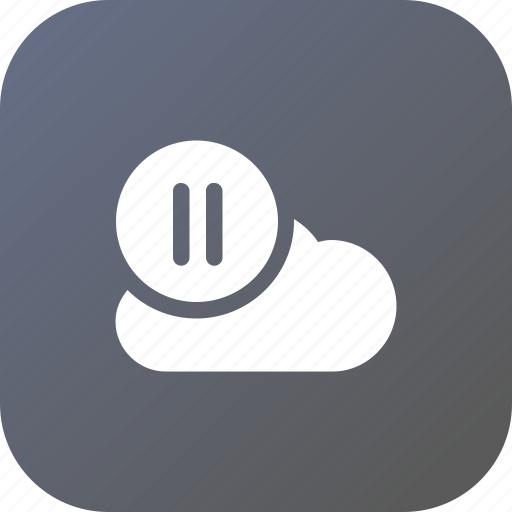 big, cloud, data, database, online, resume, storage icon