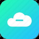 database, storage, data, online, subtract, cloud