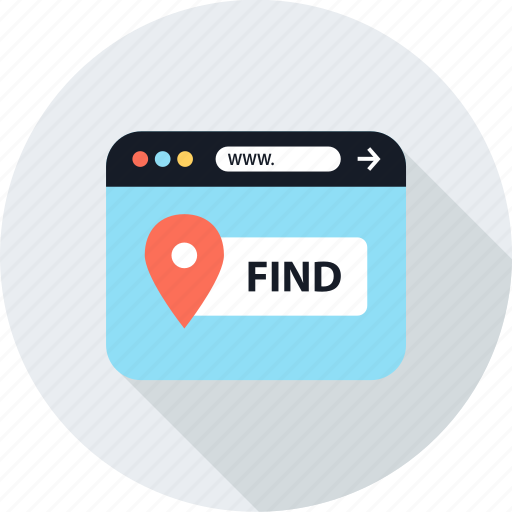 find, gps, locate, pin icon