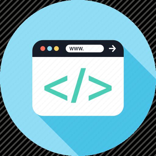 development, web, www icon