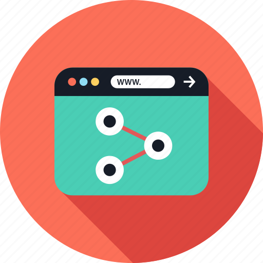 browser, share, web, www icon
