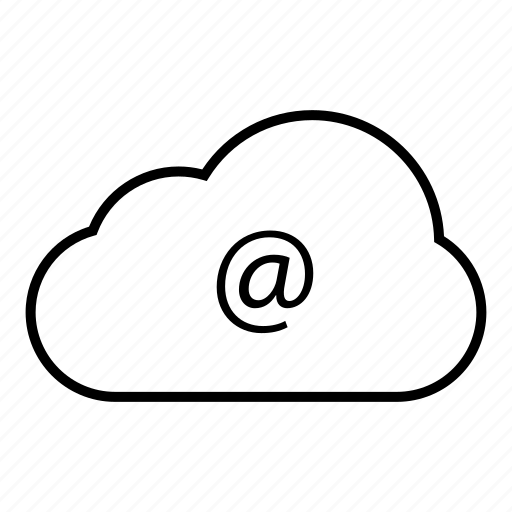 cloud, cloud computing, communication, computing, connection, email, internet, network, server, web icon