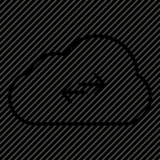 cloud, cloud computing, communication, computing, connection, internet, network, server, web icon