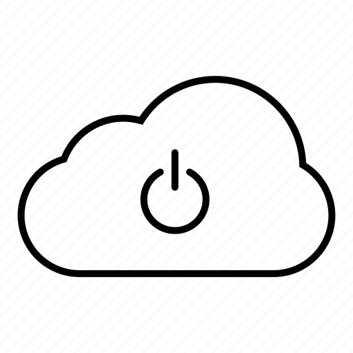 Business, cloud, cloud computing, communication, computing, connection, logout icon - Download on Iconfinder