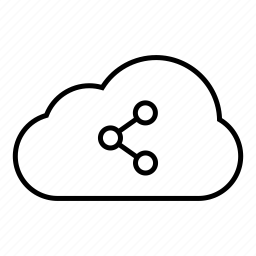 cloud, cloud computing, communication, computing, connection, internet, network, server, share, social network, web icon