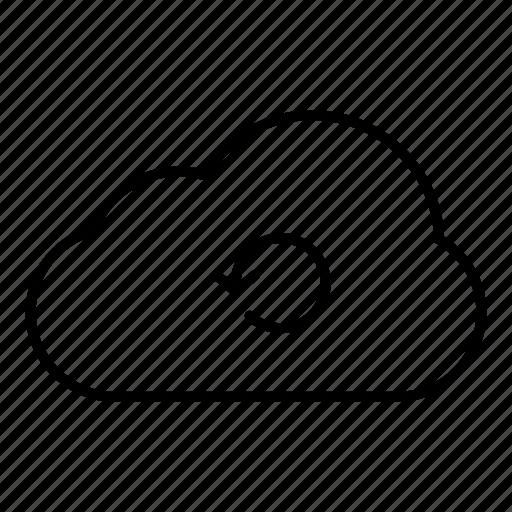 cloud computing, computing, connection, internet, network, server, web icon