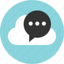chat, conversation, sms icon