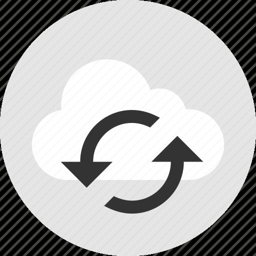 refresh, storage, technology, weather icon
