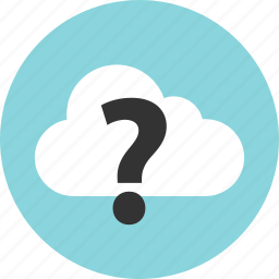 ask, mark, question, technology icon