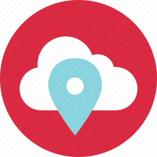 gps, location, pin, technology icon