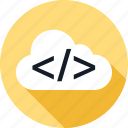 client, cloud, weather icon