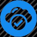 access, cloud, data, storage icon