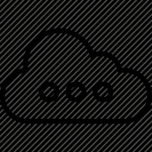 cloud, data, load, loading, server icon