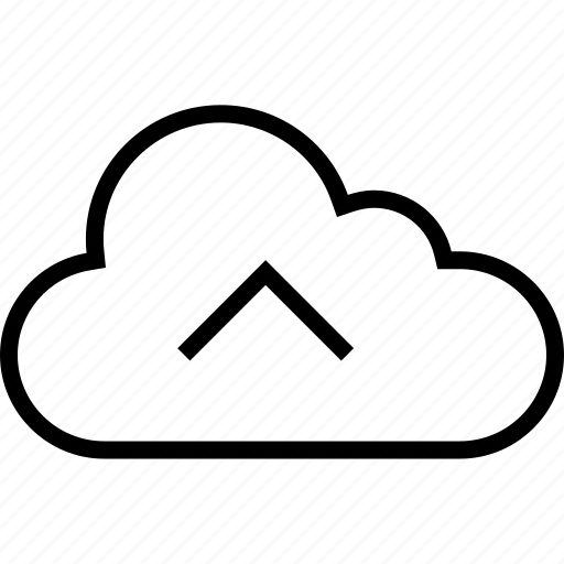 cloud, data, server, stream, up, upload icon