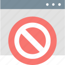 access, denied, lock, password, protection, safety, security icon