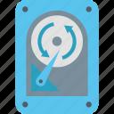 arrows, backup, copy, data, information, system, technology icon