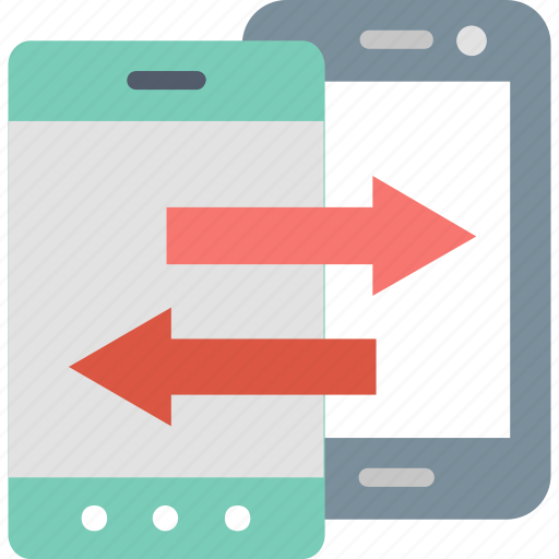 Data, transfer, cloud, information, mobile, smartphone, transmission icon - Download on Iconfinder