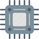 chip, component, computer, electronics, hardware, technology icon