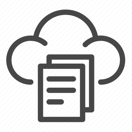 cloud, data, files, share, sharing, storage icon