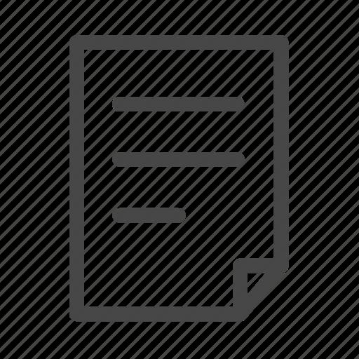 data, file, paper, sheet icon
