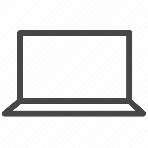 computer, device, laptop, macbook icon