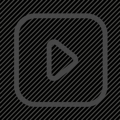 clip, file, movie, video icon